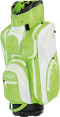 Jucad Aquastop White/Green Cart Bag