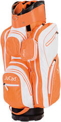 Jucad Aquastop White/Orange Cart Bag