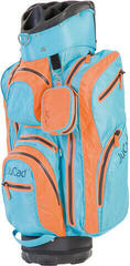 Jucad Aquastop GT Orange/Blue Cart Bag