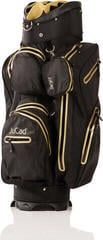 Jucad Aquastop Black/Gold Cart Bag