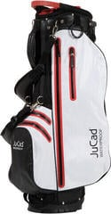 Jucad 2 in 1 Waterproof Black/White/Red Stand Bag