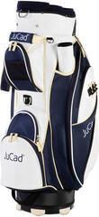 Jucad Style White/Blue/Beige Cart Bag