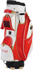 Jucad Style White/Red/Beige Cart Bag