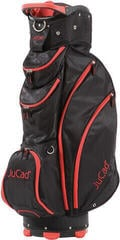 Jucad Spirit Black/Zipper Red Cart Bag