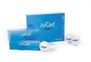 Jucad V500 Golf Balls 12 pcs