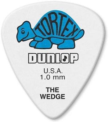 Dunlop 424P 1.0 Tortex Wedge 12 Player Pack