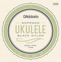 D'Addario EJ53S Pro-Arté Rectified Soprano Ukulele Strings