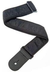 D'Addario Planet Waves 50B01 Woven Guitar Strap Black Satin