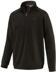 Puma Envoy 1/4 Zip Mens Sweater Forest Night
