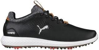 Puma Ignite PWRADAPT Junior Chaussures de Golf Black US 4