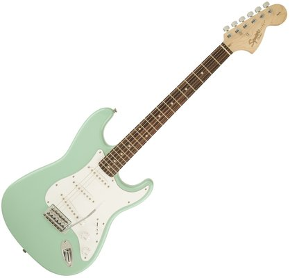 Fender Squier Affinity Series Stratocaster Indian Laurel Surf Green