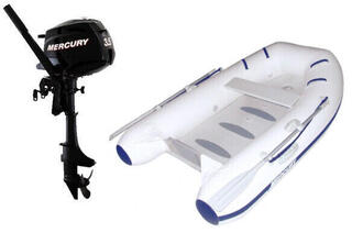 Mercury Air Deck Deluxe 250 - Mercury F3,5M Set