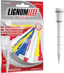 Lignum Tee 2 1/2 Inch Mix Colours 16 pcs