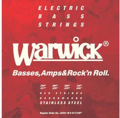 Warwick Red Strings 8-String-Set Medium 017-100