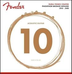 Fender 860XL Phosphor Bronze Coated 10-48