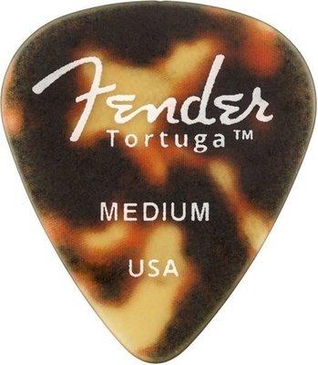 Fender Tortuga Picks 351 Medium 6 Pack