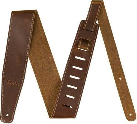 Fender Broken-In Leather Strap Tan 2.5''