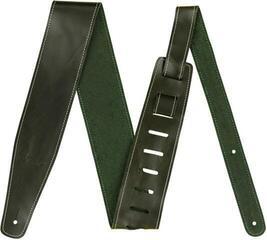 Fender Broken-In Leather Strap Green 2.5''