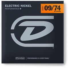 Dunlop DEN0974 Electric Guitar Strings - 8 String