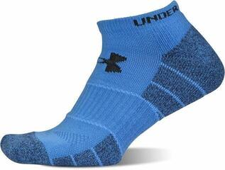 Under Armour UA Elevated Performance No Show 2-Pack Blue Jet MD