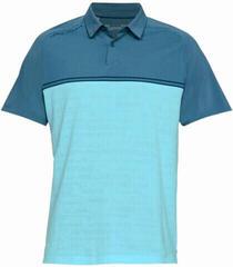 Under Armour Threadborne Calibrate Mens Polo Shirt Static Blue