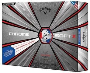 Callaway Chrome Soft X 18 Truvis Red/Blue