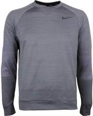 Nike Dry Brushed Crew Neck Mens Sweater Gunsmoke