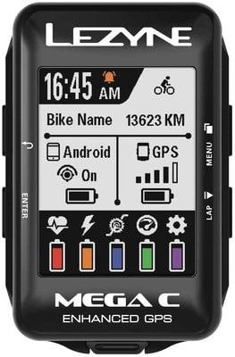 Lezyne Mega C GPS 1 Black