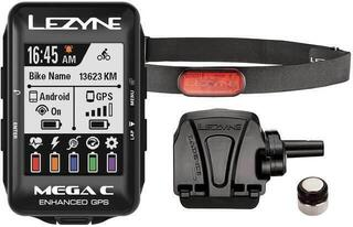 Lezyne Mega C GPS 1 Black Loaded Box