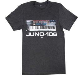 Roland JUNO-106 Crew T-Shirt Grey