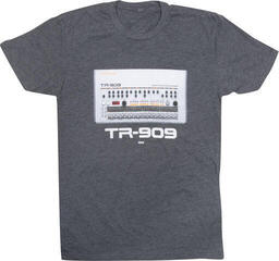 Roland TR-909 Crew T-Shirt Charcoal