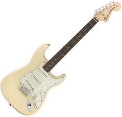 Fender Albert Hammond JR Stratocaster MN Olympic White
