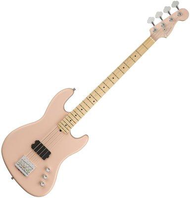 Fender Flea Bass II MN Matte Shell Pink