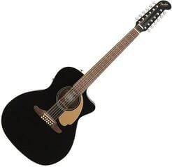 Fender Villager 12 String V3 Gloss Jetty Black