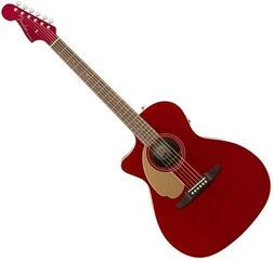 Fender Newporter California Player LH Candy Apple Red