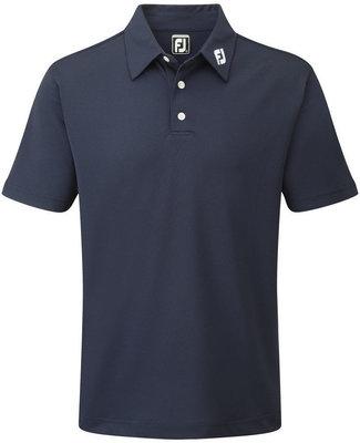 Footjoy Stretch Pique Solid Mens Polo Shirt Navy XL