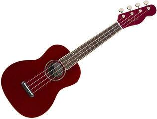 Fender Zuma Classic Concert Ukulele WN Candy Apple Red