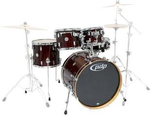 PDP by DW Concept Maple 5 Pc Shell Set Transparent Cherry 20''