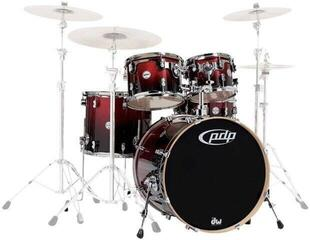 PDP by DW Concept Maple 5 Pc Shell Set Cherry Stain 22''