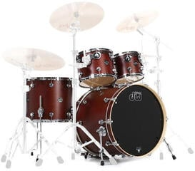 DW Performance Series 4 Pc Shell Set Tobacco Satin Oil 22''