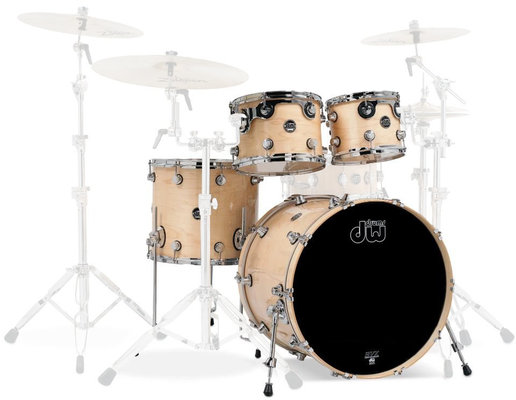 DW Performance Series 4 Pc Shell Set Natural Lacquer 22''