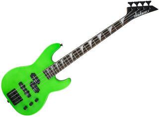 Jackson JS1X Concert Bass Minion AH FB Neon Green
