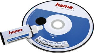 Hama CD Laser Lens Cleaner with Cleaning Fluid CD