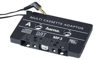 Hama MP3/CD Cassette Adapter Black