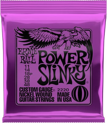 Ernie Ball 2220 Power Slinky Nickel Wound