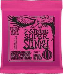 Ernie Ball 2623 7 string Super Slinky
