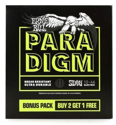 Ernie Ball Regular Slinky Paradigm 3 Pack
