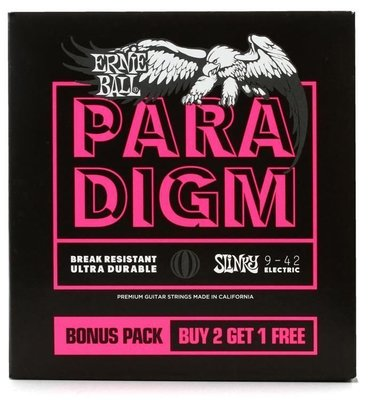 Ernie Ball Super Slinky Paradigm 3 Pack