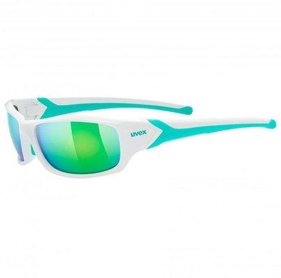 UVEX Sportstyle 211 White Green S3