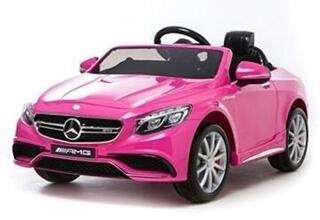 Beneo Electric Ride-On Toy Car Mercedes-Benz S63 AMG Pink